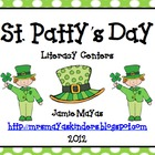 St. Patty's Day Literacy Activities