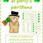 St Patty's Partitions - Hundreds Tens and Units