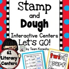 Stamp and Dough Literacy Centers