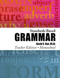 Standards Based Grammar: Home School Edition Soft Cover