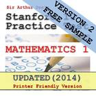 Stanford 10 Practice Test in Mathematics-1 (FREE SAMPLE)