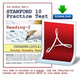 Stanford 10 Practice Test (Reading-2)