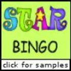 Star Bingo (Capital Letters)