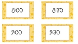 Star Classroom Schedule Cards