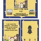 Star Friends Count and Clip Cards {Free}