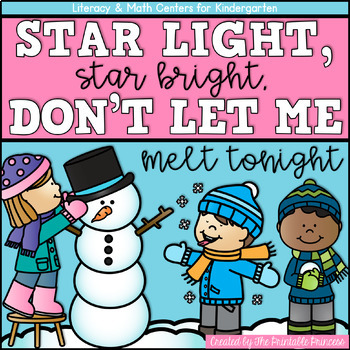 Star Light, Star Bright! {Winter Literacy & Math Centers for Kindergarten}