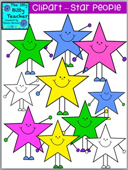 Star People Clipart