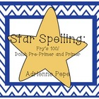 Star Spelling: Sight Word Practice