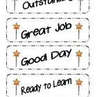 Star Themed Behavior Clip Chart Packet