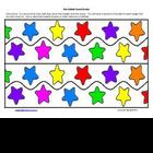 Star Themed Bulletin Board Border
