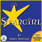 Stargirl Novel Unit CD ~ Common Core Standards Aligned