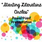 Starting Literature Circles PowerPoint
