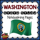 State Study - Washington State Study Notebooking Pages