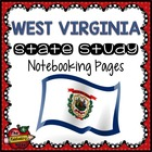 State Study - West Virginia Island State Study Notebooking Pages