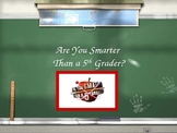 States of Matter Are You Smarter Than a 5th Grader Powerpo