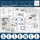 Science Notebook: States of Matter Journaling Pages
