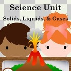 States of Matter Unit (science, solid, liquid, gas, plasma
