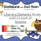 SCIENCE: 'Stellaluna' & 'Owl Moon' Literary Elements & Sci