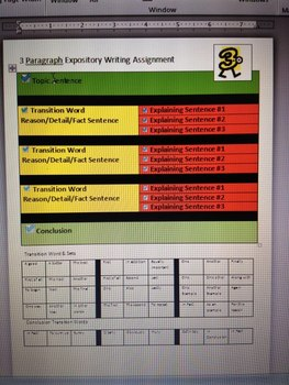 Step Up to Writing Paragraph Examples