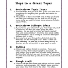 Steps to a Great Paper