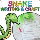 Stevie the Snake { Animal Craftivity and Writing Prompts! }