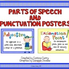 Stick Kids Parts of Speech and Punctuation Posters