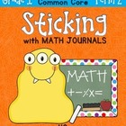 Sticking With Math Journals - Grade 1 -Term 2