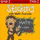 Sticking With Math Journals - Grade 2 - Term 2