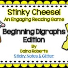 Stinky Cheese! Reading Game - Beginning Digraphs Edition {