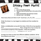 Stinky Feet Math