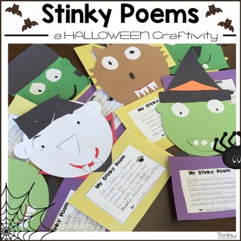 Stinky Poems Halloween Craftivity