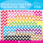 Stitched Chevron Paper  Pack - Graphics for Teachers