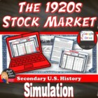 Stock Market Simulation Game (U.S. History)