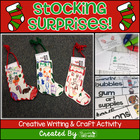 Stocking Surprises ~ Creative Christmas Writing Mini Book