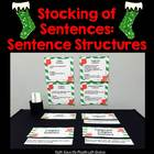 Stockings of Sentence Structures {Center Activity}