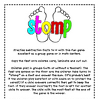 Stomp-Subtraction facts to 10
