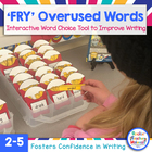 Stop Word Overuse and Abuse! Interactive Bulletin Board to