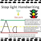 Stop light Handwriting