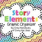 Story Elements: Graphic Organizer Freebie