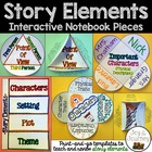 Story Elements Interactive Notebook Packet