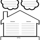 Story Elements Story Map: ELA graphic organizer