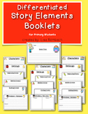 Story Map Booklets (basic story elements) for Primary Students