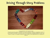 Story Problems using Car Manipulatives