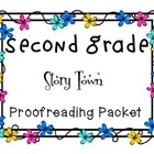 Harcourt StoryTown Second Grade Proofreading Bundle lessons 1-30