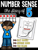Story of 5 with Number Bonds & Ten Frames