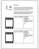 Storyboard for script writing
