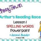 Storytown Spelling Words POWERPOINT Lesson 1: Arthur's Rea
