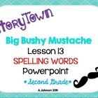 Storytown Spelling Words POWERPOINT Lesson 13: Big Bushy M