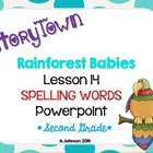 Storytown Spelling Words POWERPOINT Lesson 14: Rainforest