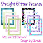 Digital Straight Frames: Glitter Mix